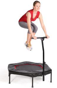 Wie ist die Materialverarbeitung beim Jumping Fitness Trampolin von SportPlus?