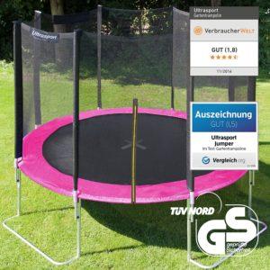 Warum ist das Ultrasport-Gartentrampolin-Jumper zum Trampolinspringen das beste Trampolin?