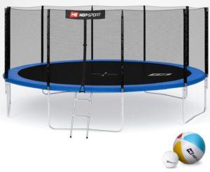 Großes Trampolin - Hop-Sport Gartentrampolin